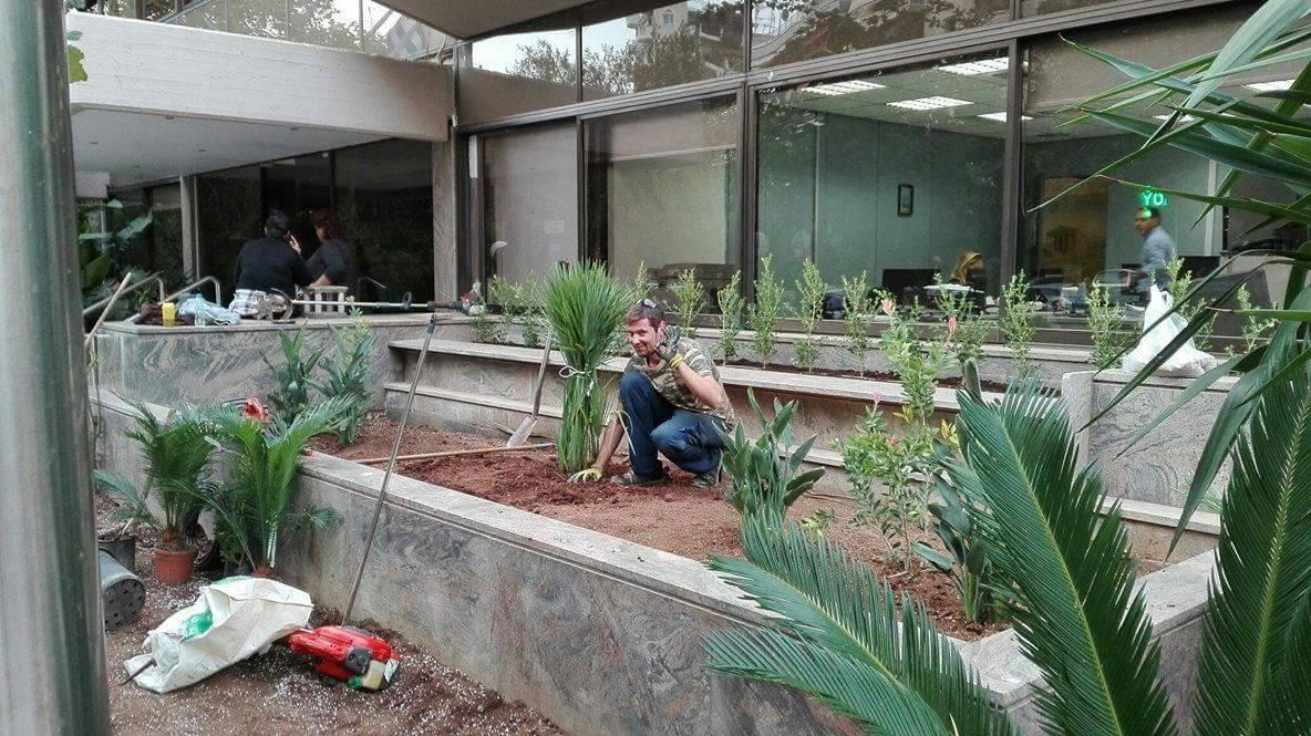 κατασκευη κηπου ψυχικο